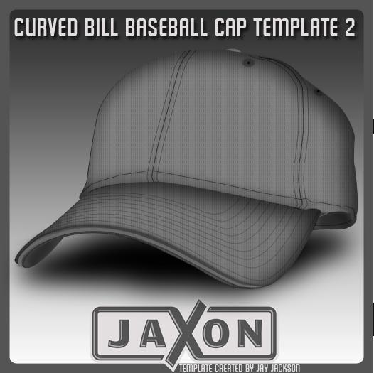 Curved Bill Baseball Template Psd By Jayjaxon