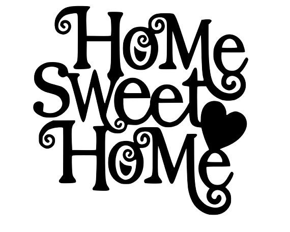 Home Sweet Home Sign Svg Farmhouse Svg Cut Files Cricut