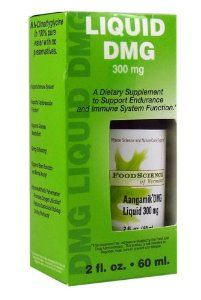 Food Science of Vermont Dietary Supplement, Liquid DMG, 300