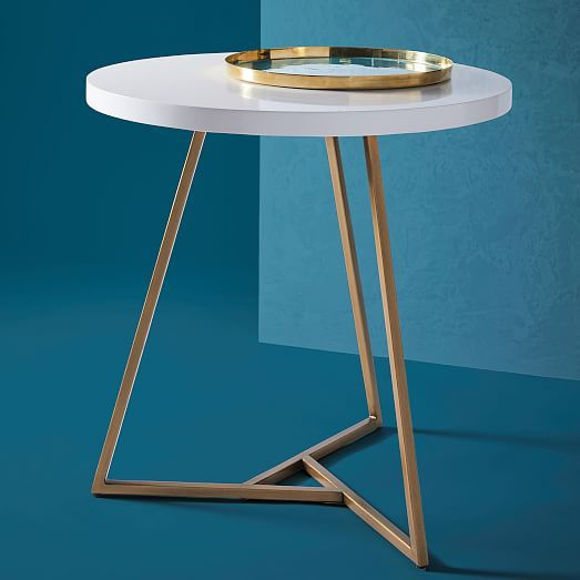 Lacquer Top Café Table Rogers Kitchen Pinterest Basements - West elm cafe table