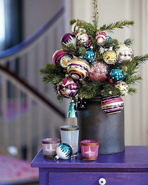 40 Beautiful Small Christmas Tree Decoration Ideas Small christmas