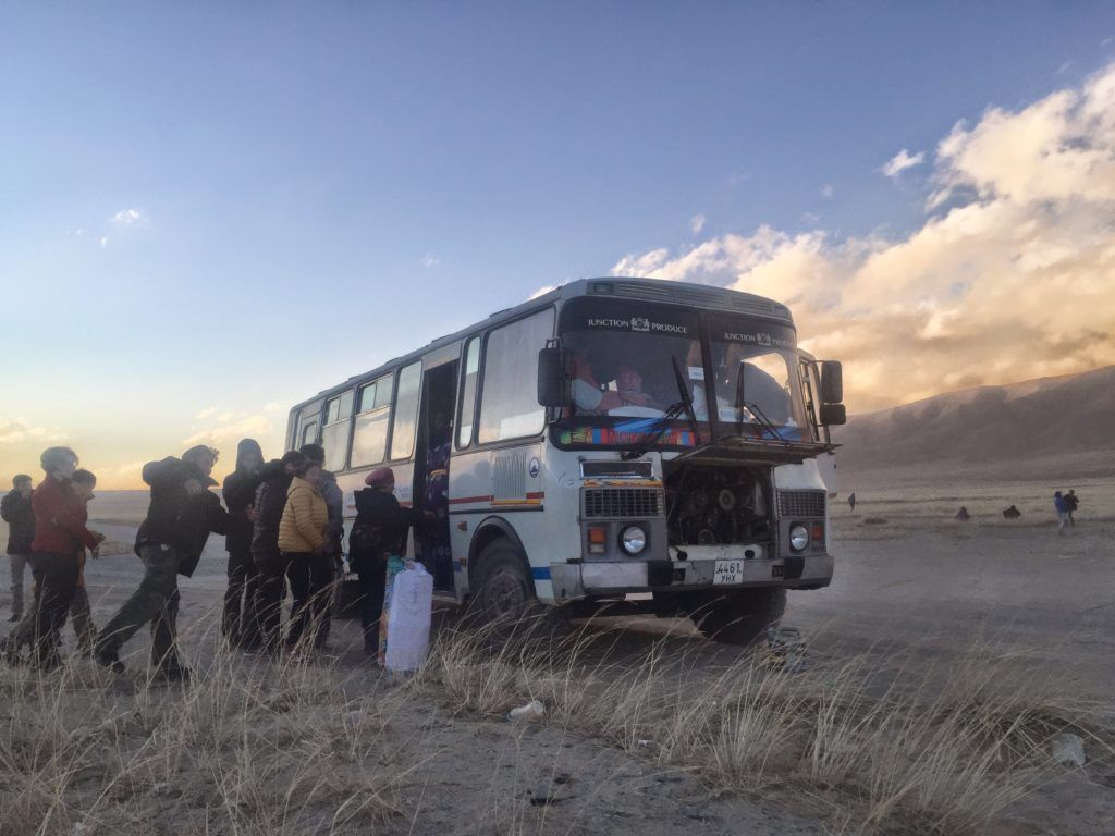 How to survive a 48 hours bus ride in mongolia bus ride