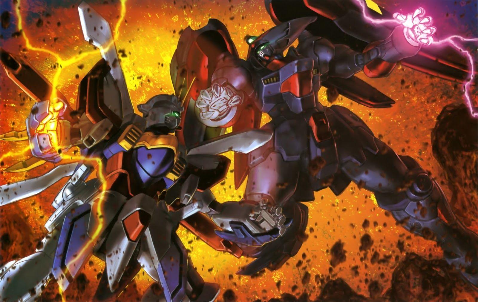 Gundam Walls And Lols God Gundam Vs Master Gundam Wallpaper Gundam Wallpapers Gundam Gundam Toys