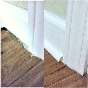 Edging Corners Laminate Hardwood Flooring Floor Edging