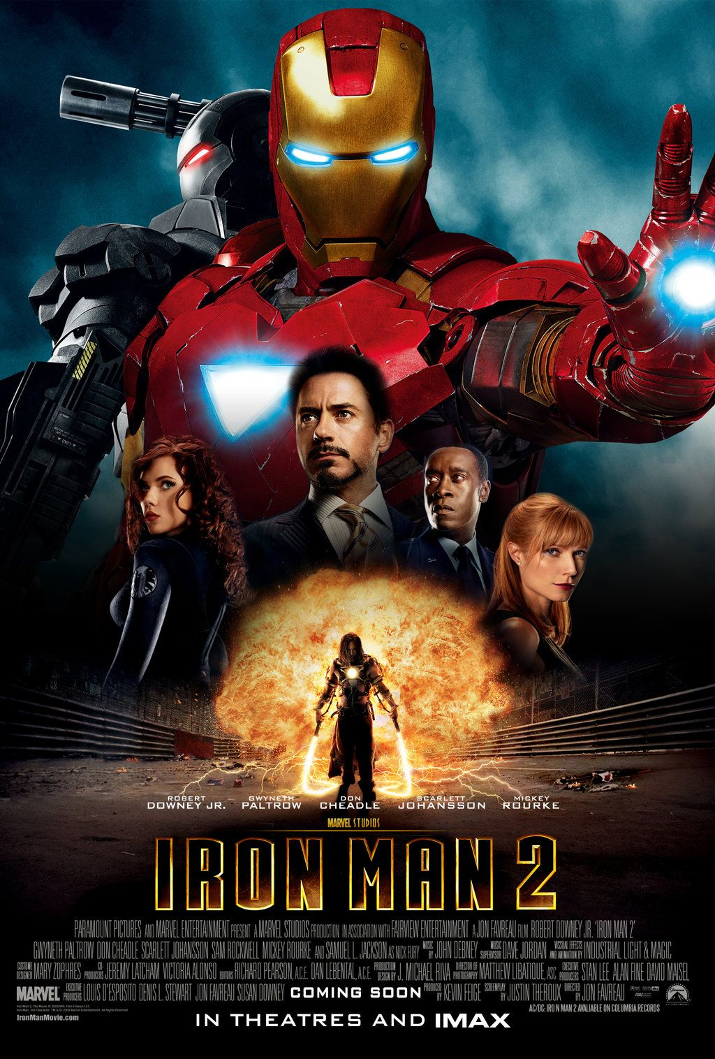 Image result for Iron Man 2 poster 1080p