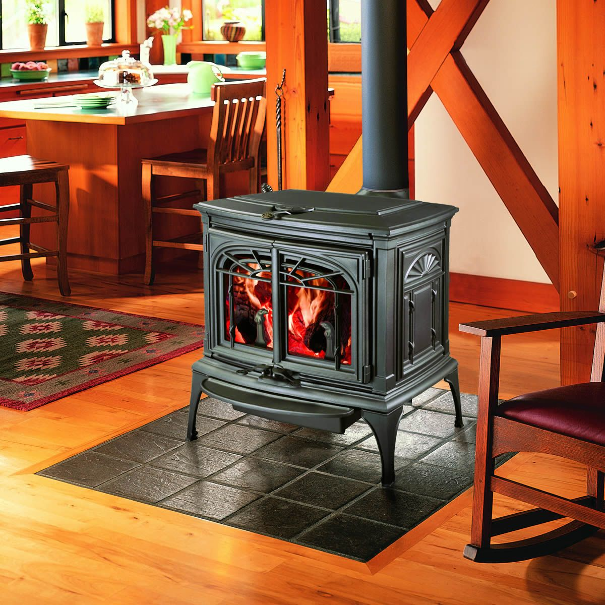 Lopi Leyden Wood Stove. Another option for replacing our old wood ...