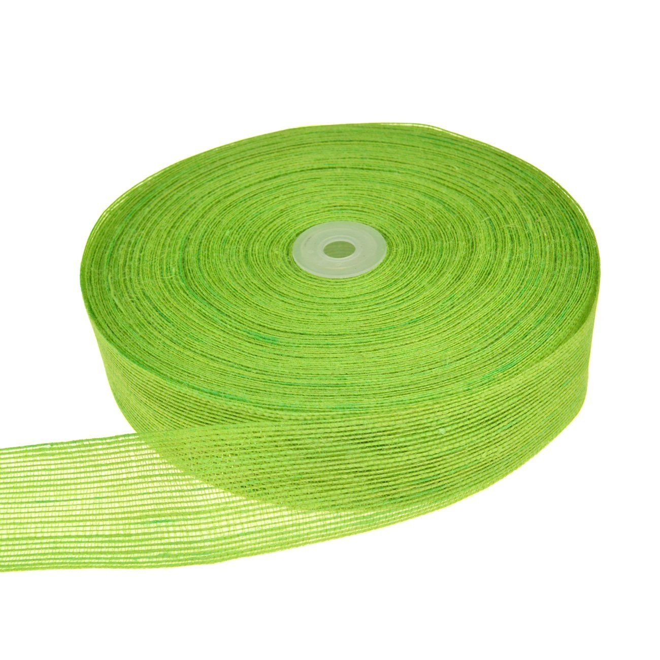 Solid Color Burlap Ribbon Roll Fabric For Wedding Party Home Diy Decoration Gross Green 1 7 8 Wide By 10 Yards You Can Diy Decor Burlap Ribbon Home Diy