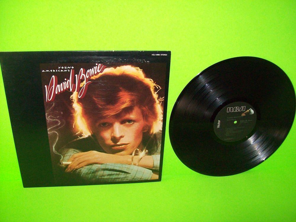 David Bowie Young Americans 1979 Pressing Vintage Vinyl Lp Record Aql1 0998 Davidbowie Poprock Vinylrecord David Bowie David Bowie Young Rock And Roll