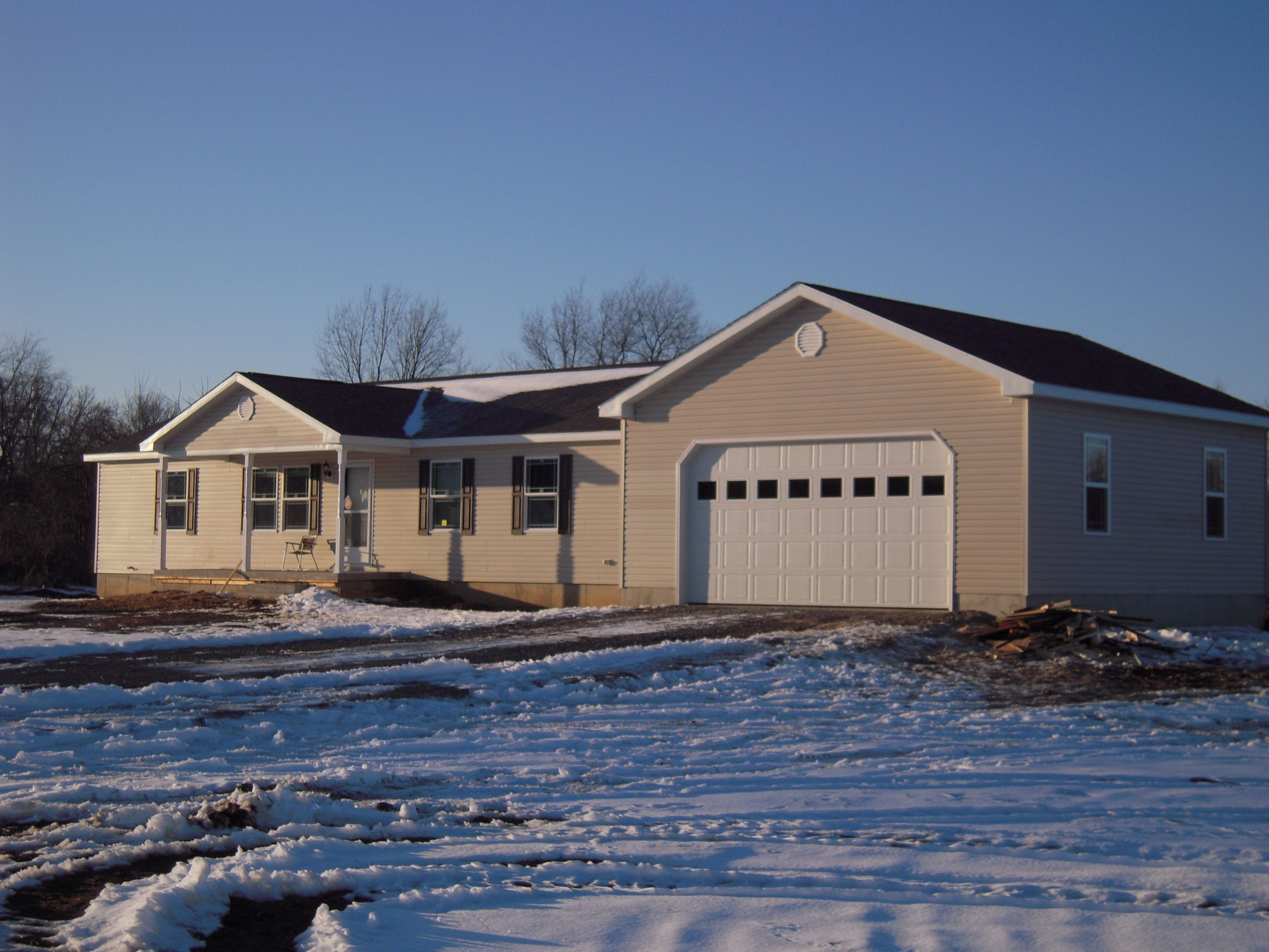 Modular home located in scio township mi this beautiful for Modular homes with garages