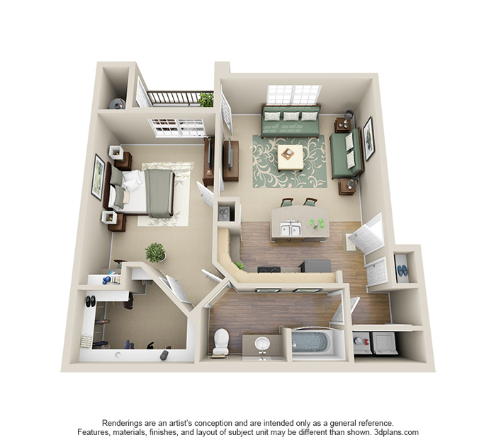 1 2 And 3 Bedroom Apartments In Littleton Co Floor Plans Monterey Apartments 842 Sq Ft