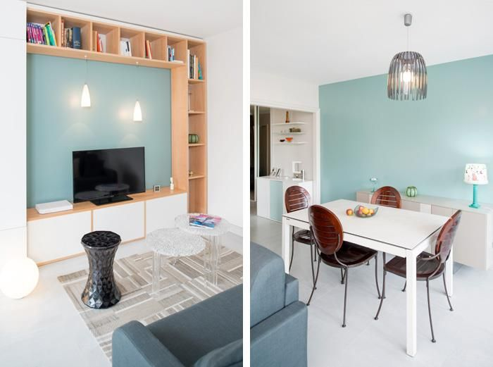aménagement et décoration d'un salon - salle à manger | interieur ... - Amenagement Interieur Salon Salle A Manger