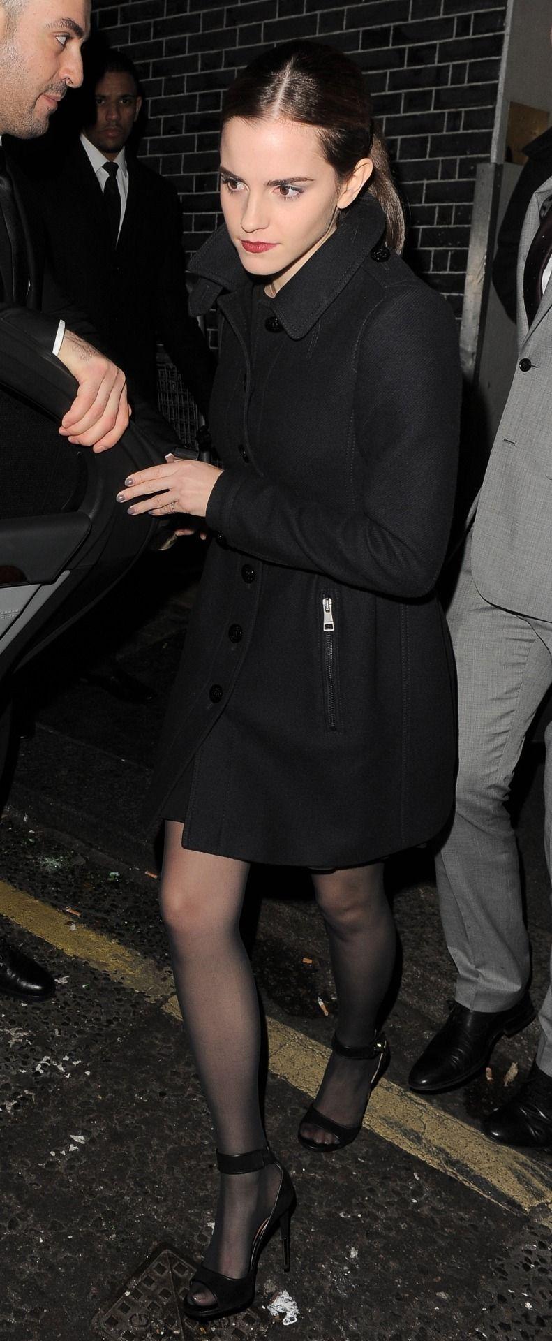 Stockings emma watson Emma Watson