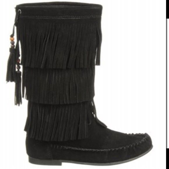 Steve Madden Boots Never have been worn. In perfect condition! Steve Madden Shoes Moccasins