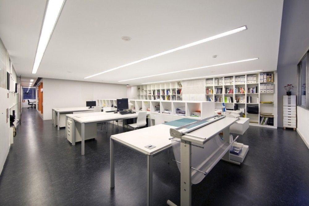 Architecture Studio Desks architecture studio office lighting interior design - architect