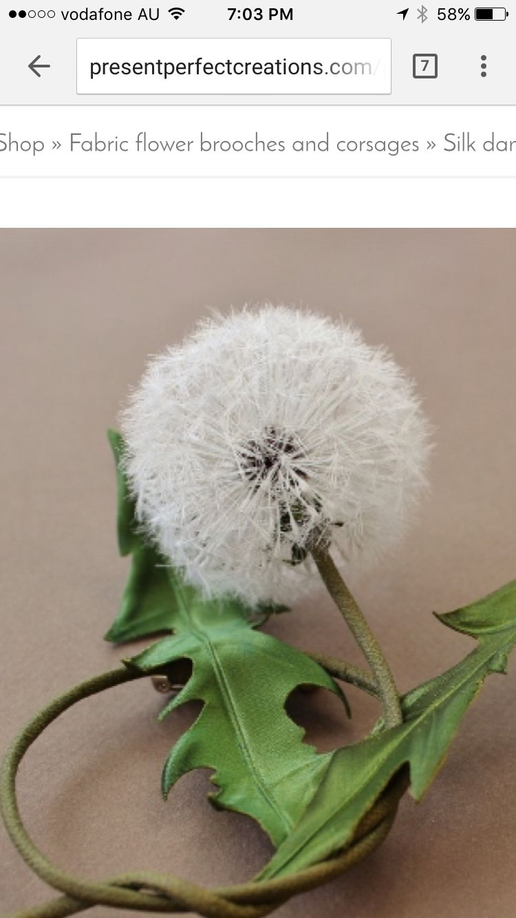 Pin by tash thomas on hats pinterest silk flowers and silk a garden weed or another amazing nature creation this silk dandelion clock has mightylinksfo