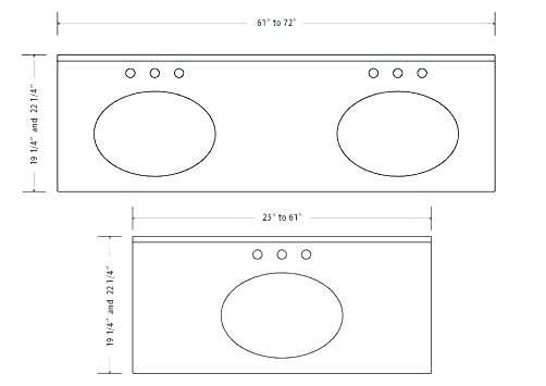 ADA bathroom counter depth - Google Search | Millwork ...