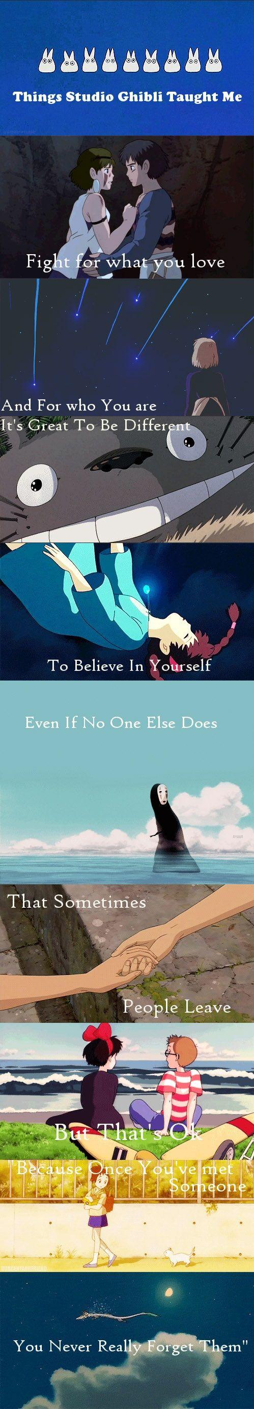 Things Studio Ghibli Taught Me:  Princess Mononoke, Howl's Moving Castle, My…