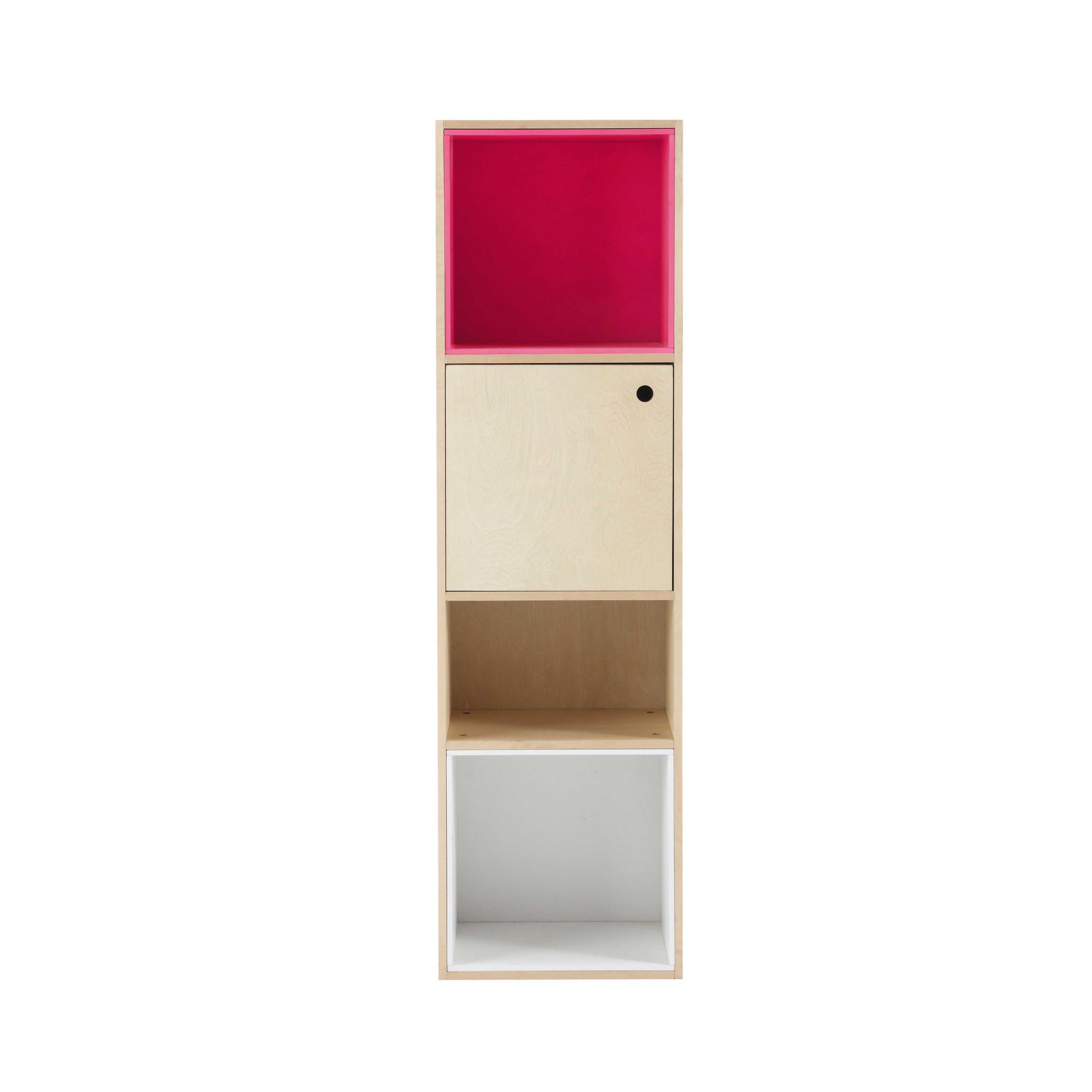 Colonne modulable en bois rose H 150 cm Dekale