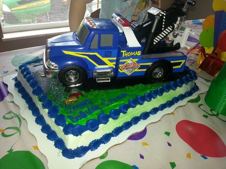 Tow Truck My Cakes In 2018 Pinterest Tow Truck And Birthdays