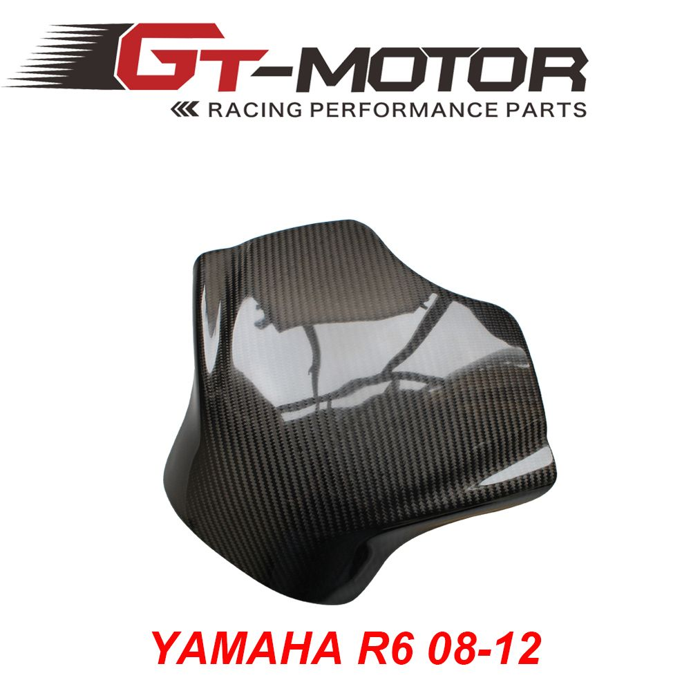 GT Motor - Carbon Fiber Fuel Gas Tank Cover Protector For Yamaha YZF ...