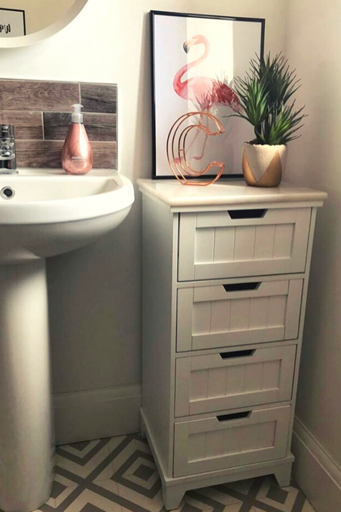 Regular Bathroom Storage idea