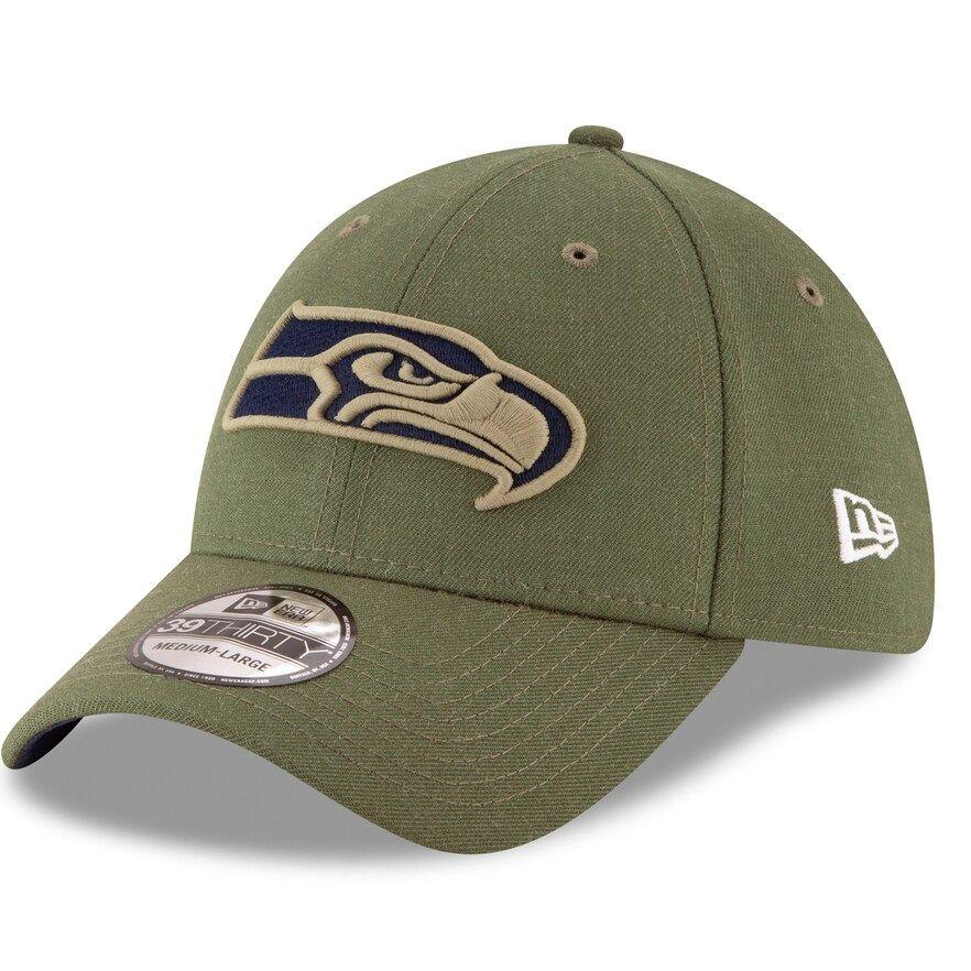 Salute to Service Seattle Seahawks New Era 39Thirty Cap