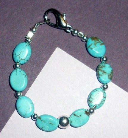 Native American Turquoise Jewelry | Native American Beaded Bracelet Small Size Turquoise | jstinson ...