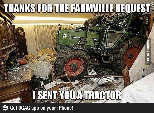 Thanks for the farmville request!