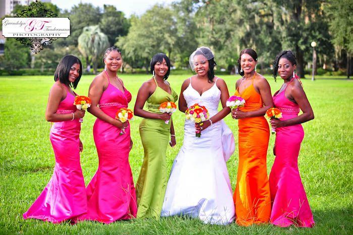 Bridesmaids Dresses Different Styles Same Color - Ocodea.com