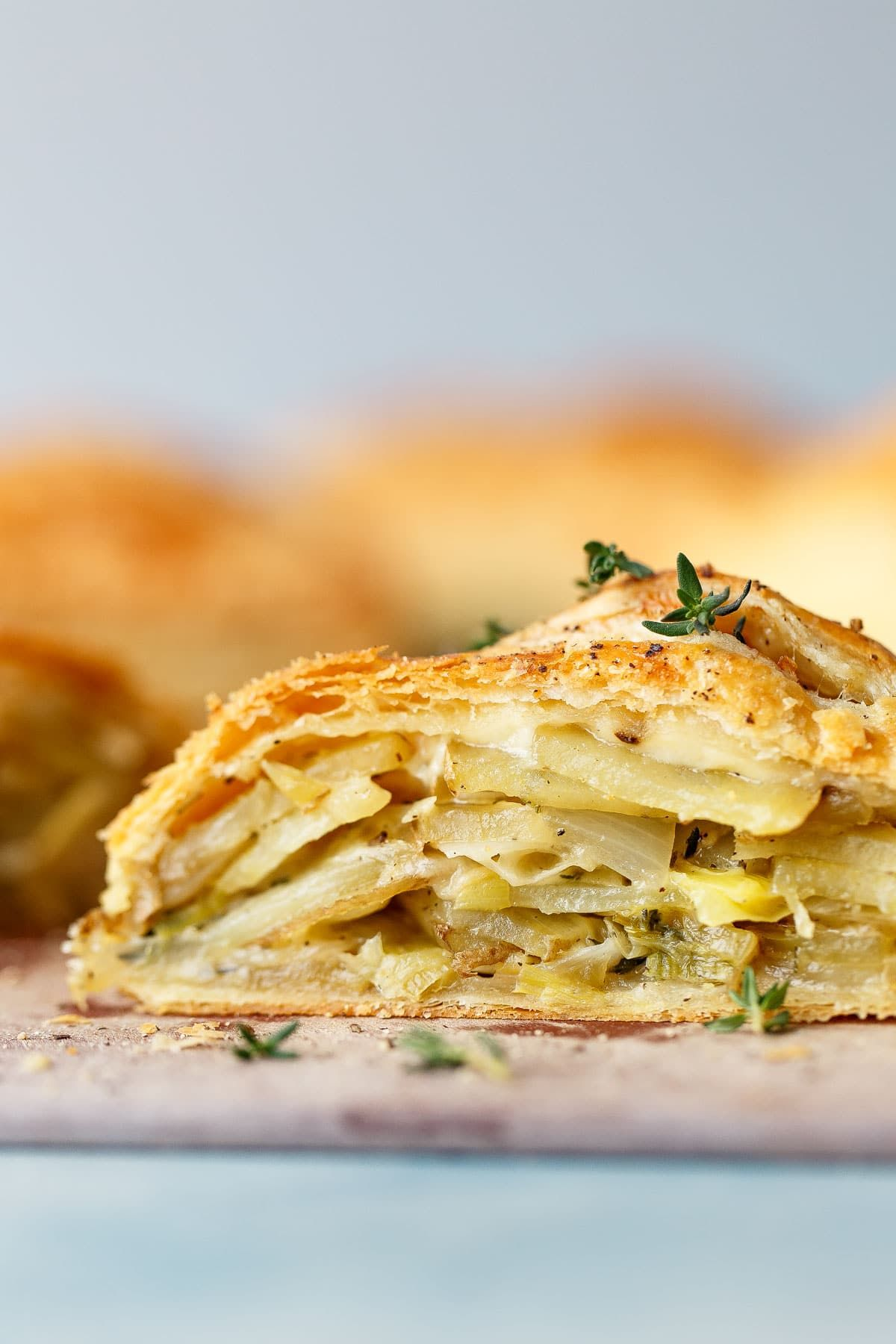 Potato Leek Cornish Pasty Recipe Leeks, Pasties recipes