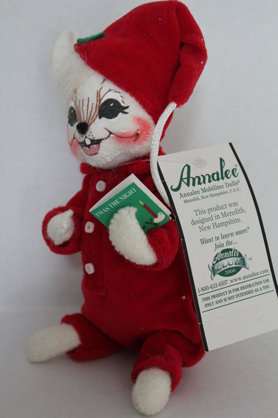 Annalee Doll Christmas Twas the Night Before by TalesofTime, $23.00 - Annalee Doll Christmas Twas The Night Before Chirstmas With Tags