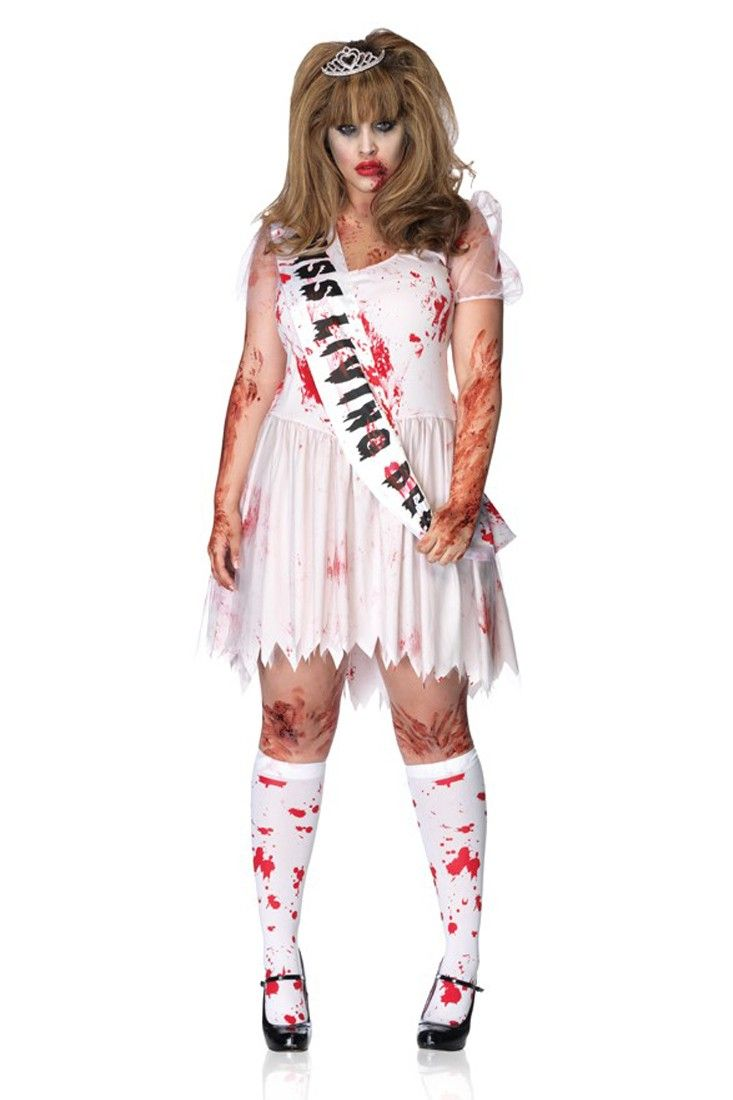 Pink Putrid Prom Queen 3 Pc Plus Size Costume Plus Size Costume Plus Size Halloween Costume Halloween Costumes Plus Size