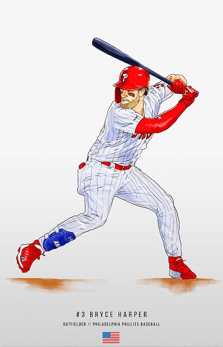 Bryce Harper Philadelphia Phillies Phillies Bryce Harper