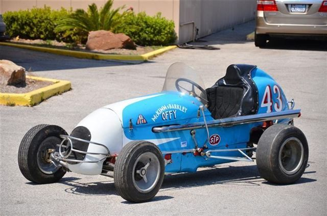 Midget racing oleary