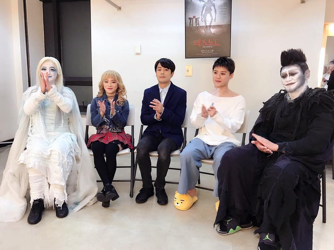 Kim Junsu ♥♥^^ XIA-L Death Note Musical VLive TV