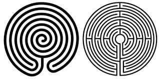 image regarding Finger Labyrinth Printable identified as finger labyrinth template - Google Seem Chill Out Zone