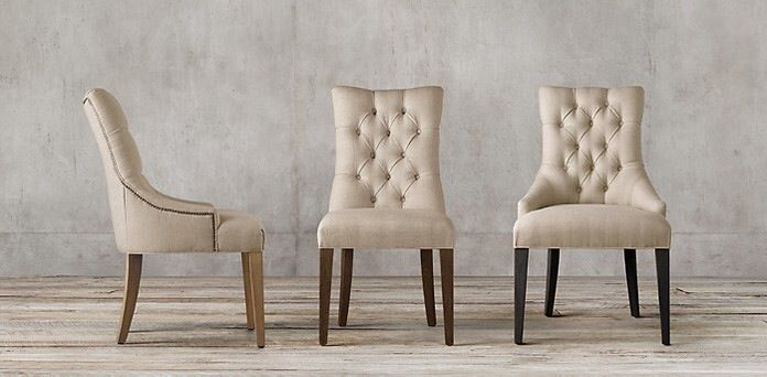 dining chairs from williams furniture. any fabric (samples on way