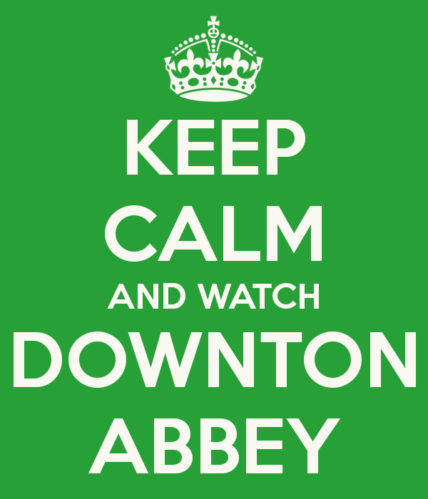 Downton Abbey - I will need the Season 6 Blu-rays please!
