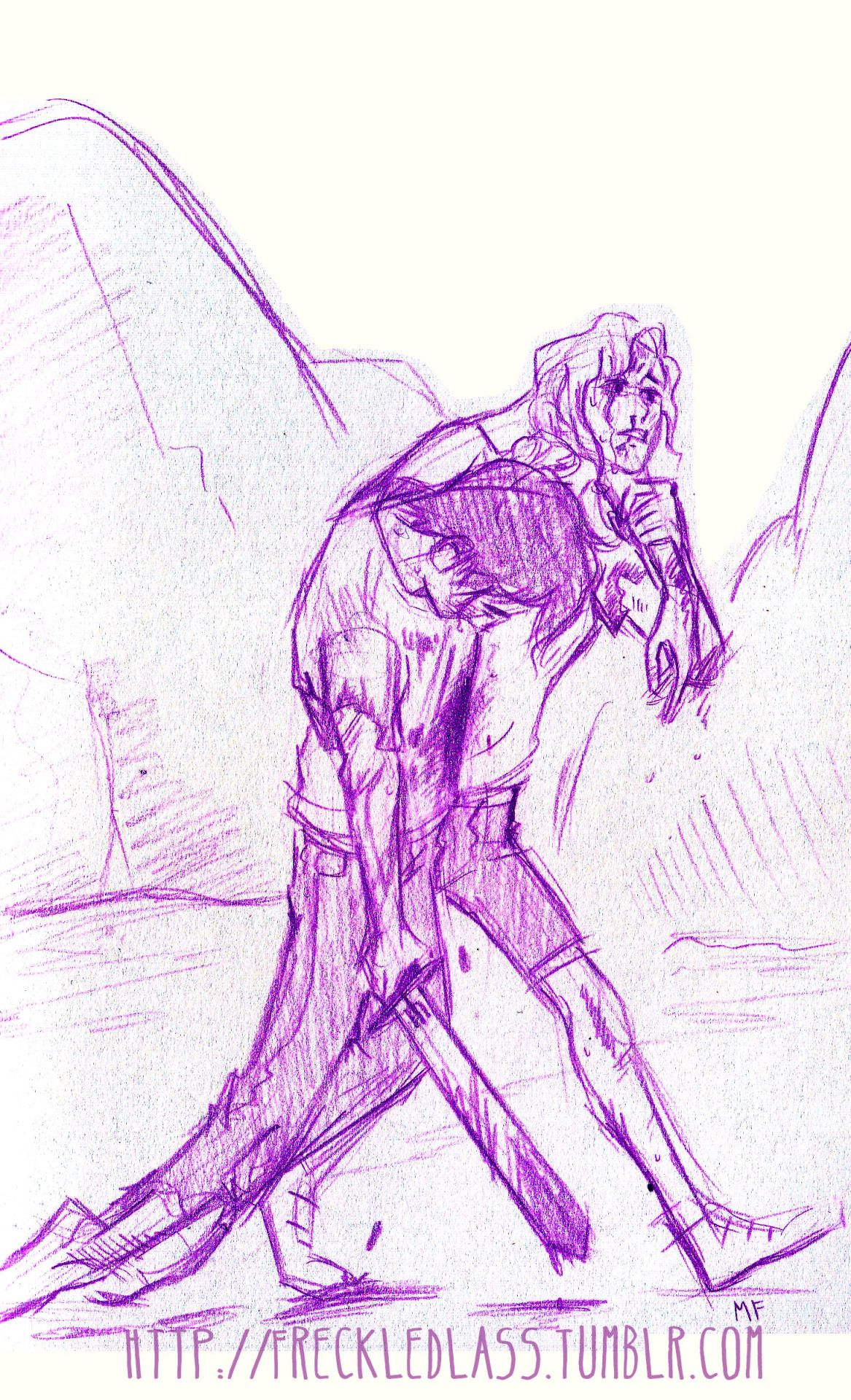 Just Percy And Annabeth Taking A Stroll Through Tartarus Com