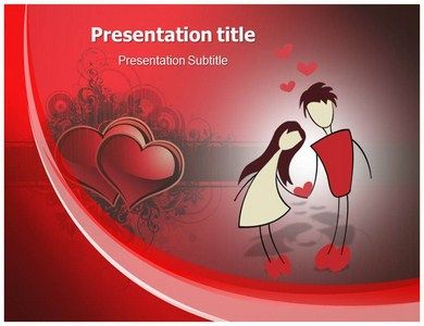 cute #valentines day #powerpoint template | love and romance, Powerpoint templates