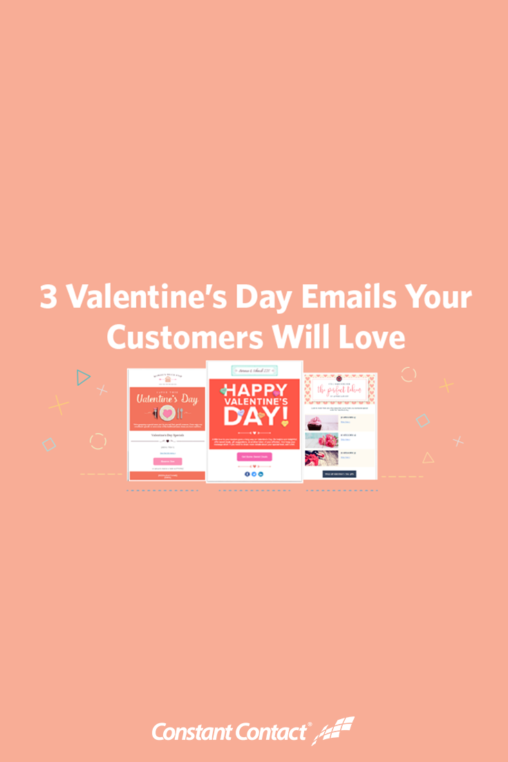 3 Valentines Day Emails Your Customers Will Love Template