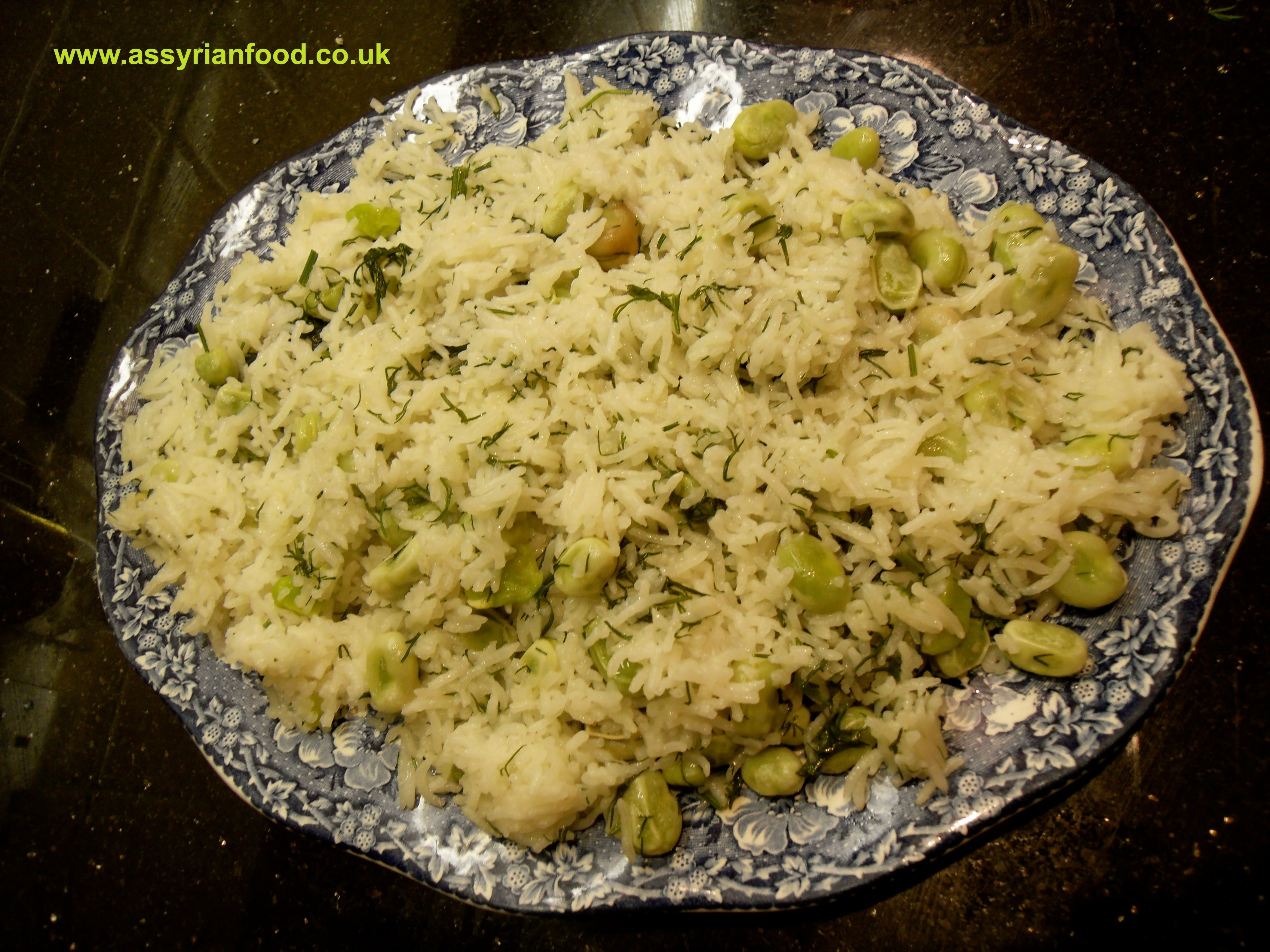 Broadbean Amp Dill Rice Middle East Pinterest Rice