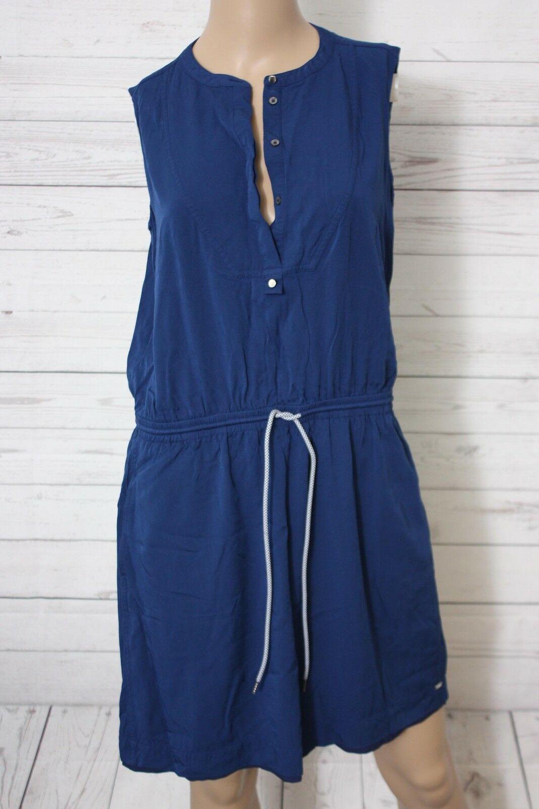 Tommy Hilfiger Damen Blusen Kleid Knielang Gr 38 Blusenkleid Ideen Von Blusenkleid Blusenkleid