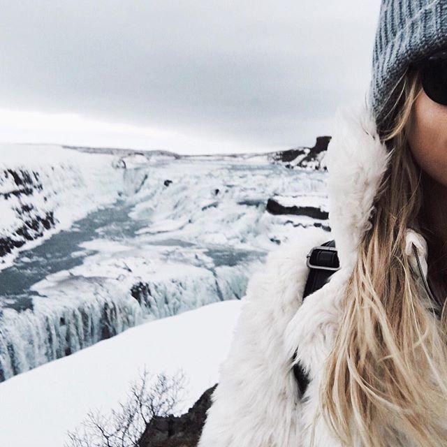 brrrr ❄️❄️❄️ #iceland #gullfoss #hgtravel