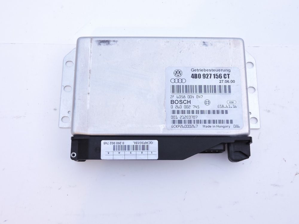 01 Audi A6 Quattro Transmission Control 4b0 927 156 Ct Module Unit Tcu Tcm 4 2l Audi Ebay Vegan Recipes Auto Parts