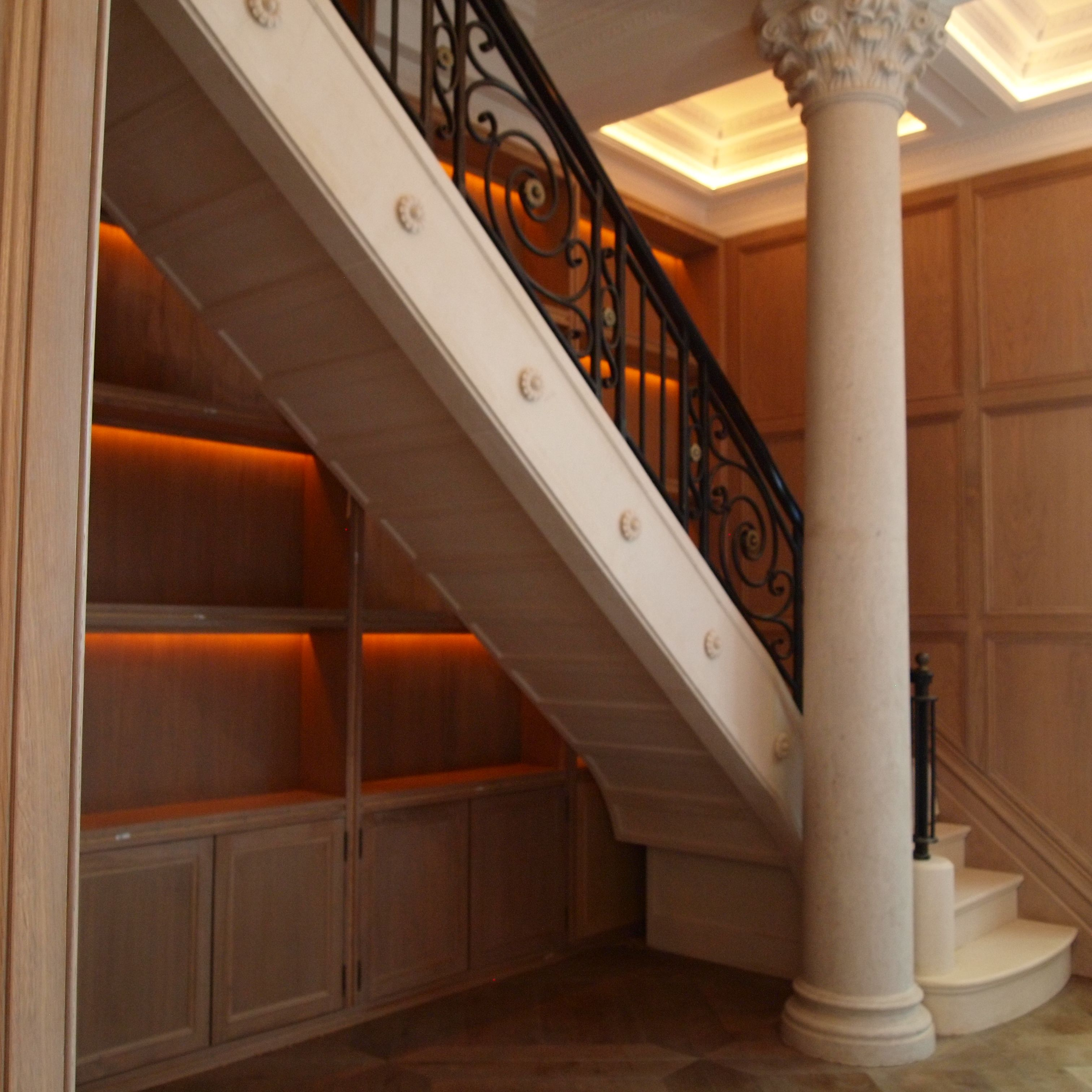French Stone Staircase In London Mayfair By The Stonemasonry Company