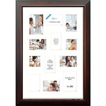 Walmart Mainstays Wide 12 Opening Matted Collage Frame Walnut 12 Picture Frame Frame Poster Frame