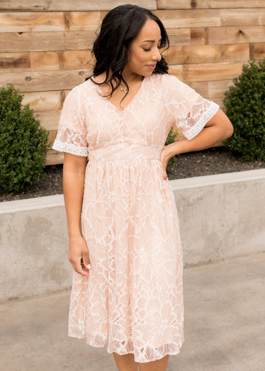 Elisha Crochet Detail Lace Overlay Dress White Lace Overlay Dress White Dress Dresses [ 2048 x 1365 Pixel ]