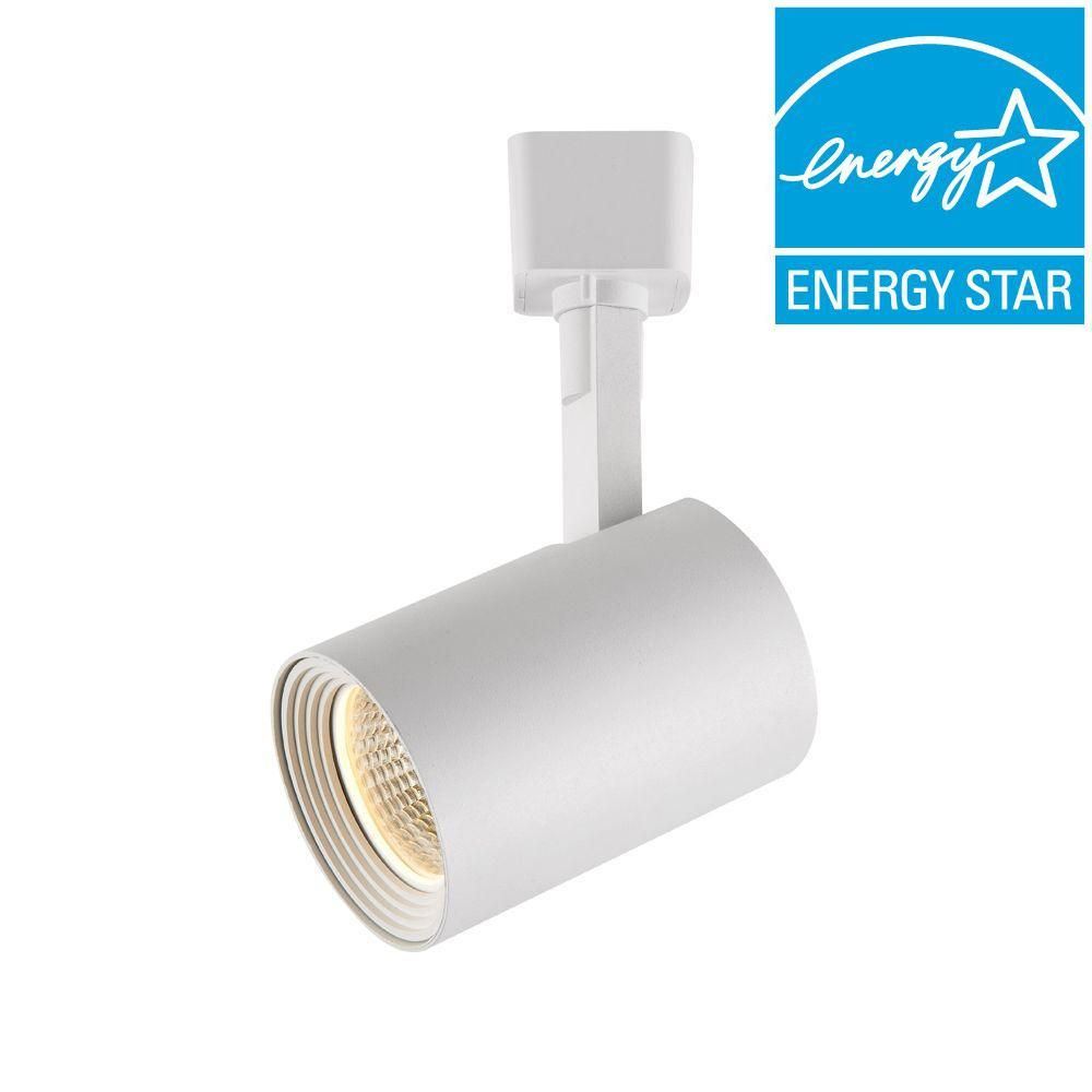 Hampton Bay White Dimmable Led Cylinder