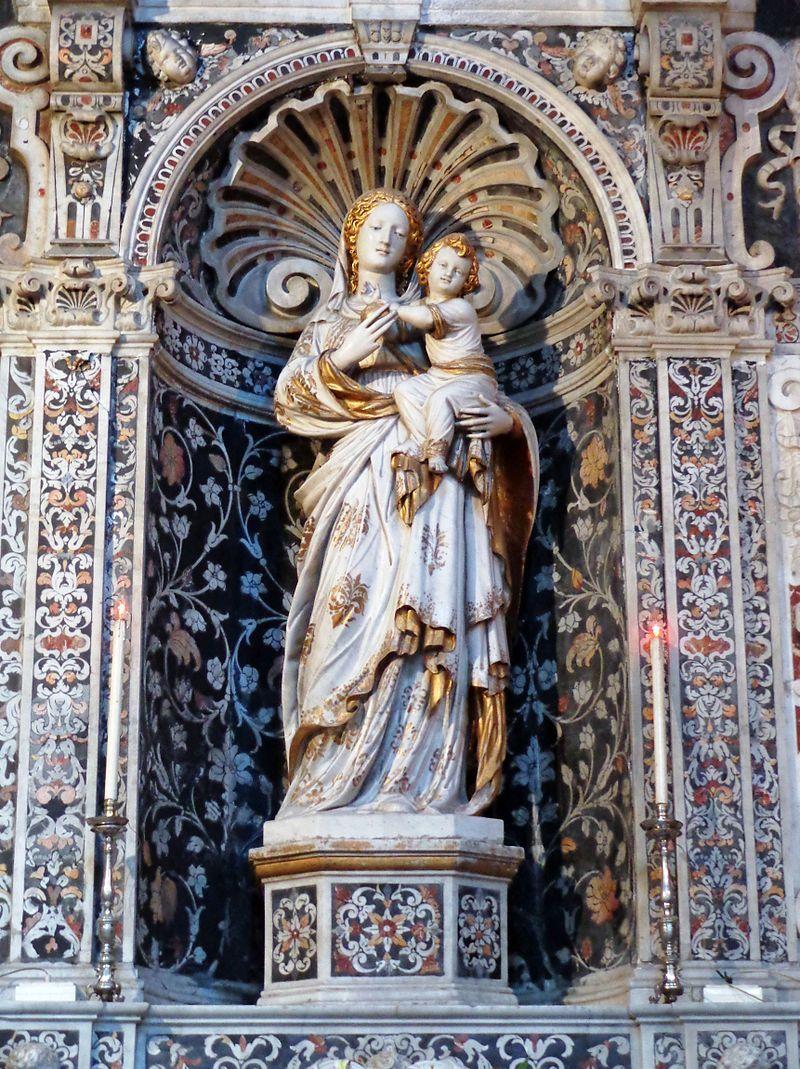 Gagini Antonello-Madonna di Trapani- chiesa deiTeatini,  Palermo